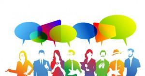 discussione, dialogo, comunit, colori